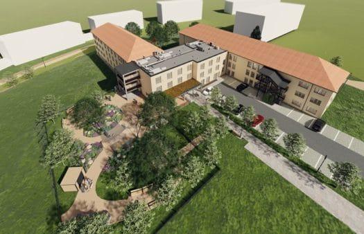 Výstavba SeniorCentra ve Žďáru nad Sázavou zahájena