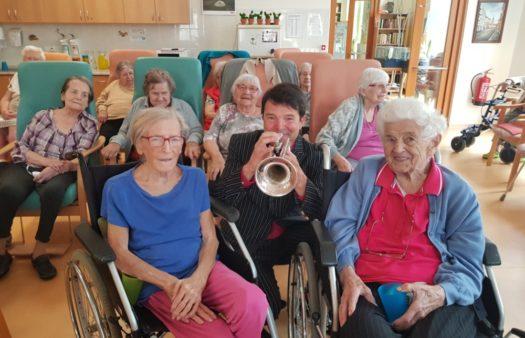 Hudební odpoledne v SeniorCentru Písek