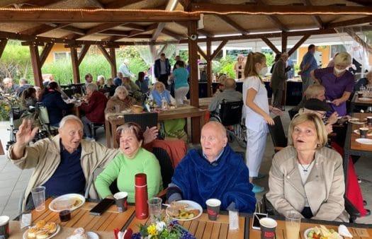 Zahradní slavnost SeniorCentra Modřice